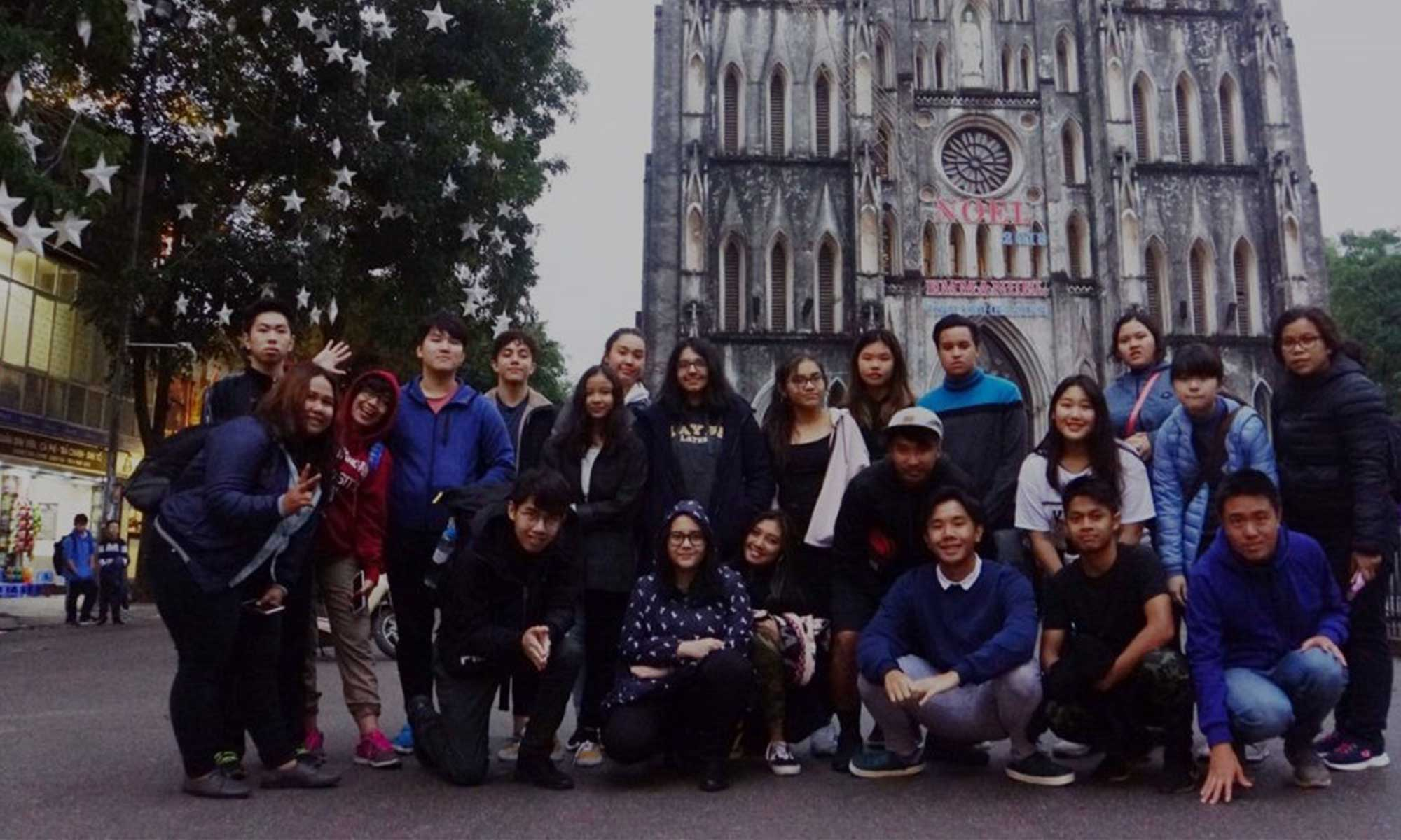 Secondary Year Students Vietnam Excursion