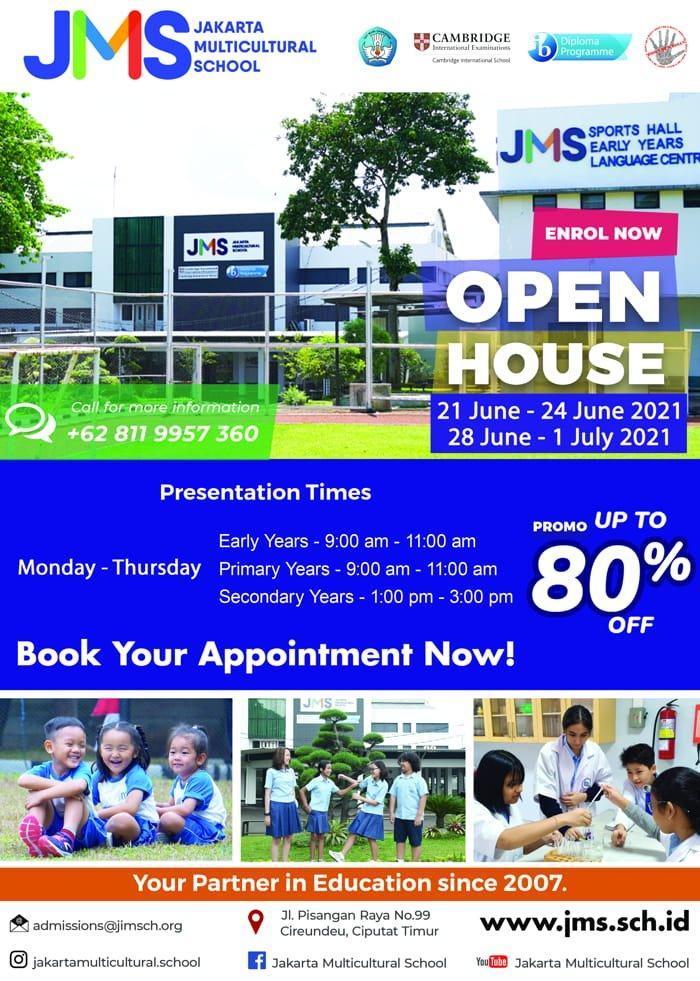 JMS open house